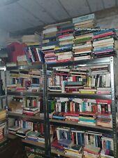 Stock 100 libri MISTI romanzi, saggi, raccolte, giardino, storia, ecc
