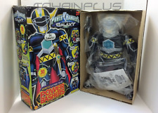 "1999 Power Rangers Lost Galaxy MAGNA BLACK POWER BASHER 20"" Talking Plush NEW"