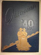 1949 QUIPPIAN Yearbook - Aliquippa High School ✨ Beaver County Aliquippa PA