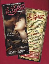 "Baz Luhrmann's ""LA BOHEME"" Alfred Boe / Joseph Jonas / Ben Davis 2002 Flyer"