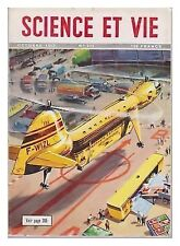 SCIENCE ET VIE  421  10/1952  BE+ HELICOPTERE