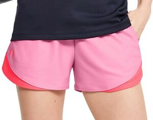 Under Armour Play Up 3.0 Womens Running Shorts - Pink