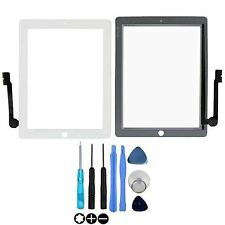 White Screen For Apple iPad 3 / 4 Touch Digitizer Glass Replacement