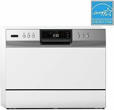 New listing Whynter Cdw-6831Wes Countertop Portable Dishwasher 6 Place Setting Led, White