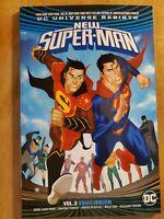 New Super-Man v3 Equilibrium excellent condition  Rebirth