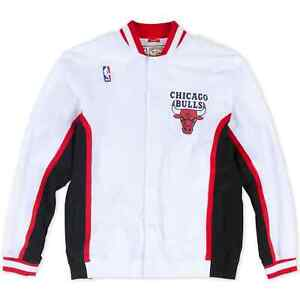 Mitchell & Ness NBA Authentic Chicago Bulls 1992-93 Warm Up Jacket Men's Top