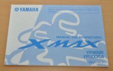 YAMAHA XMAX YP400R YP400RA Manual del Propietario Bedienungsanleitung 2013