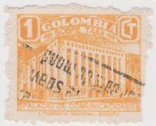 (Co42) 1939 Colombia 1c orange po bogota ow567