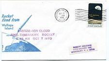 1970 Wallops Island ROCKET FIRED Barium-ION Cloud Nike Tomahawk Goddard NASA