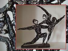 Scuplture métal ou fer soudé SIGNEE DATE 1977 danseur opéra ballet PIECE UNIQUE