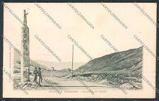 Aosta Piccolo San Bernardo cartolina C2299 SZD