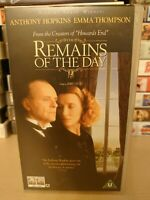 Remains Of The Day VHS Video 1994 - Anthony Hopkins & Emma Thompson