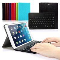 QWERTZ Deutsche Tastatur für iPad mini 1 2 3 Bluetooth Keyboard Case Schutzhülle