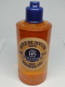 L'OCCITANE BODY SHOWER OIL- with 10% Shea Oil. 250ML- Brand New