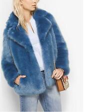 Michael Michael Kors Women's CADET Faux Fur Peacoat Jacket Coat Sz XS NWTS! $395