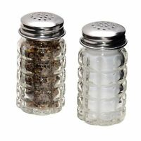 Vintage Retro Salt and Pepper Shaker Set - Restaurant Diner Bubble Style New S&P