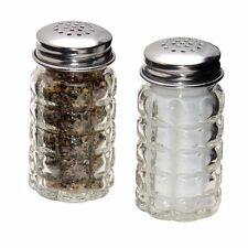Vintage Retro Salt and Pepper Shaker Set - Restaurant Diner Bubble Style New S&P