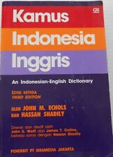 Kamus Indonesia Inggris Indonesian to English Dictionary by Echols, Shadily