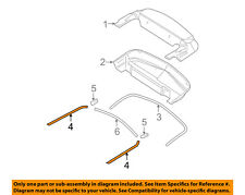 FORD OEM 06-09 Mustang Convertible Top-Outer Molding Left 6R3Z76423A19AA