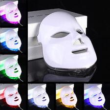 7 Colores Luz fotón LED Máscara Facial Skin Rejuvenation Belleza Terapia