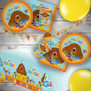 Hey Duggee The Squirrels Party Supplies Tableware, Decorations, Banners Balloons