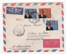 1975 MOROCCO Air Mail Cover AGADIR to ELTEN GERMANY SG352 SG345