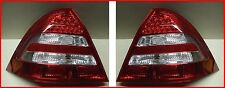 Mercedes Benz C Class W203 PAIR LED Rear Lights Lamps BACK TAIL LENSE CLUSTERS