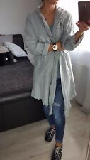 NEW Fashion Women's Ladies Girls Jacket Cardigan Linen ONE size Casual