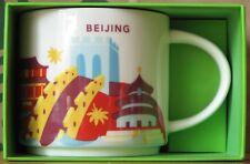 Starbucks You Are Here YAH City Mug Beijing Peking China, 14 oz neu mit SKU, HTF