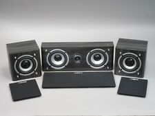Luxeon Center Channel Speaker Charcoal Gray 8 OHM With Satellites Great Add On's