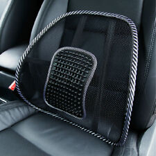 2Pcs Mesh Lumbar Back Brace Support Car Cool Seat Chair Cushion Home Office New