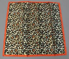 ASOS Design Women Polysatin Head/Neck Scarf In Leopard Print CK6 Multi
