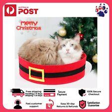 NEW 2020 Pet Cat Calming Bed Soft Warm Nest Plush Comfy Kennel Sleeping Cave AUZ