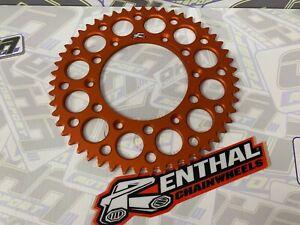 NEW Renthal Rear Sprocket for KTM 400 EXC Racing 2000-2002 - ORANGE 48T 48 tooth