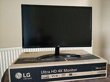 """LG 27"""" 4K UHD IPS LED Monitor"""