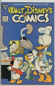 Walt Disneys Comics and Stories 1940 series # 522 fine comic book