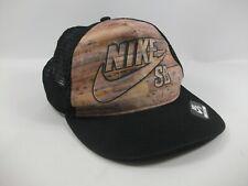 Nike SB Youth Hat Black Snapback Trucker Cap