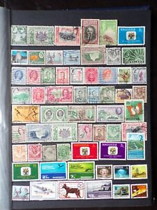 COLLECTION OF RHODESIA (NORTHERN/SOUTHERN) & NYASALAND STAMPS