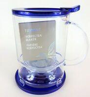 New, TEAVANA Perfectea Tea Maker in BLUE BPA free 16 oz (473 ml)