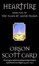 Card, Orson Scott, Heartfire: Tales of Alvin maker, book 5, Very Good Book