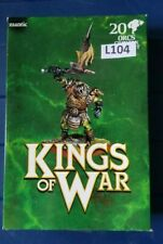 Mantic KIngs of War Orc GreatAx x20 NIB