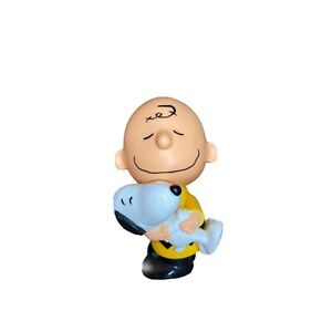 Charlie Brown Snoopy Bobble Toy Figure The Peanuts Movie McDonalds Happy Meal