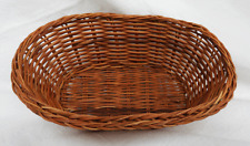 Hand Woven Oval Rattan Basket - Ideal for Gifts, Treats Etc. - BNWT