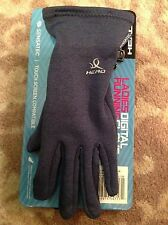 HEAD ~ ladies digital running gloves COSMIC BLUE HEATHER ~ touch screen ~ SMALL