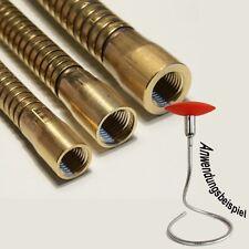 Lichthalterschlauch Flexarm Schwanenhals flexibel formbar 13x400mm M10x1 IG