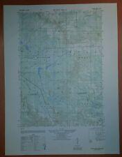 1940's Army Topo Map Rudes Hills Wisconsin  2871 II NE Camp McCoy