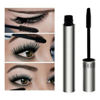 Black Makeup Waterproof Long Curling Mascara 3D Fiber Eyelash Lashes Extension