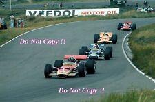 Graham Hill Gold Leaf Team Lotus 49B Dutch Grand Prix 1969 Photograph 2