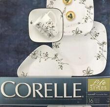 Corelle 1101529 Square Splendor 16-Piece Dinnerware Set