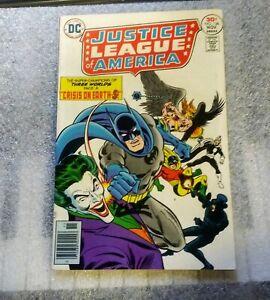 1976 Justice League Of America #136 Batman/The Joker 'Crisis on Earth-S!'